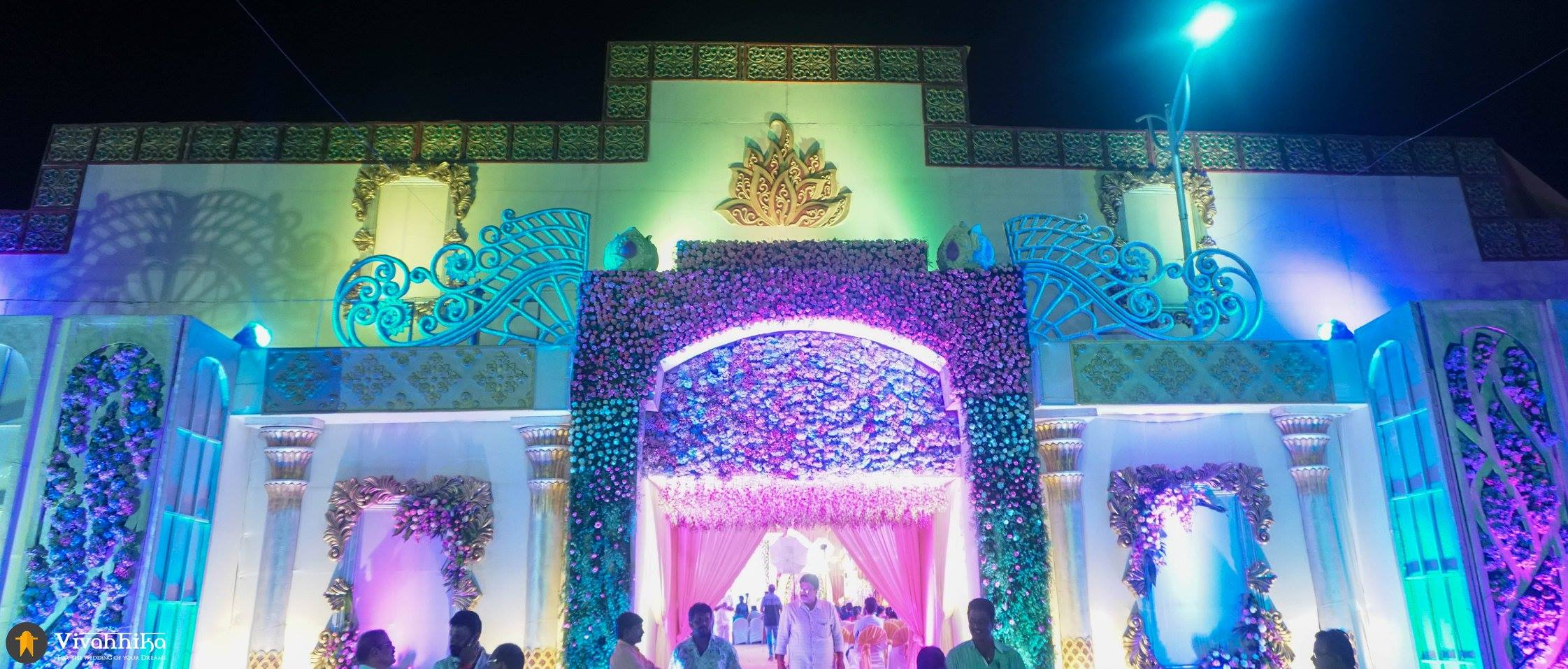 telugu floral wedding decorations